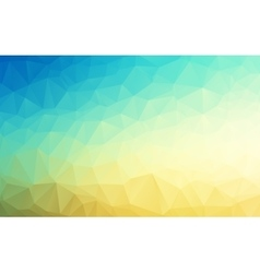 Geometrical polygon abstract background vector