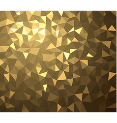 Golden geometric texture abstract background vector