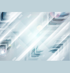 Abstract blue tech futuristic arrows vector