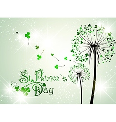 Saint patrick day abstract background vector