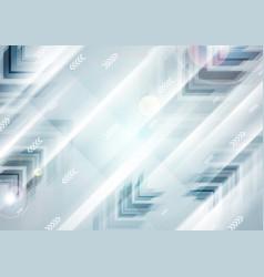 abstract blue tech futuristic arrows vector image vector image