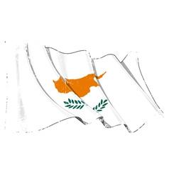 Cyprus flag grunge vector