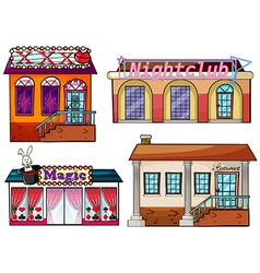 Entertainment Venue vector image