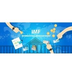 Imf international monetary fund vector