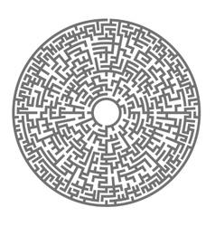Labyrinth kids maze vector
