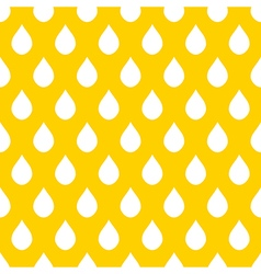 Yellow White Water Drops Background vector image