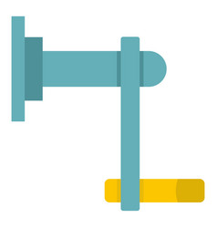 Twist tool icon isolated vector