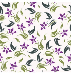 Floral background seamless vector
