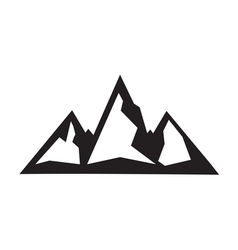 Mountain icon2 vector