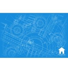 Architect background vector