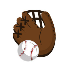 Baseball sport isolated icon vector