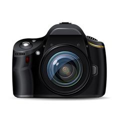 digital reflex camera vector image
