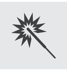 Sparkler icon vector