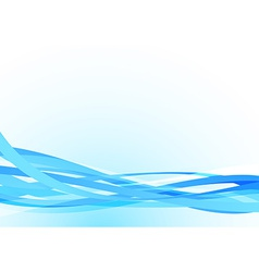 Bright blue lines abstract stream speed background vector