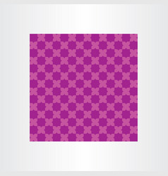 Background purple pattern geometric design element vector