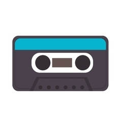 cassette retro object vector image