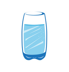 glass of water vector image