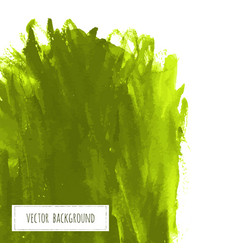 greenery hand paint watercolor grass texture vector image vector image