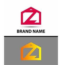 Letter Z logo symbol icon vector image vector image