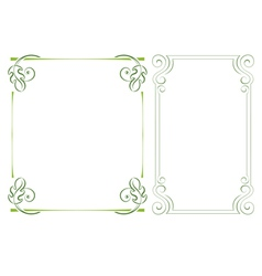 Set vertical frame vector