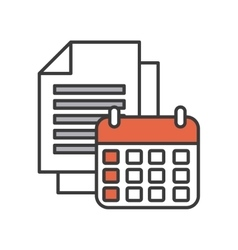 Technology app design vector