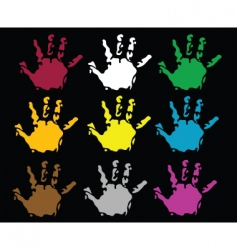 2009061 hand vector image
