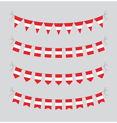austrian bunting vector image