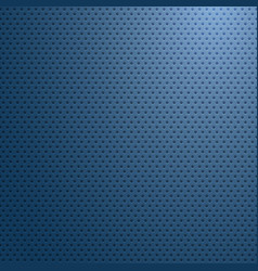 carbon fiber surface with blue light abstract vector image vector image