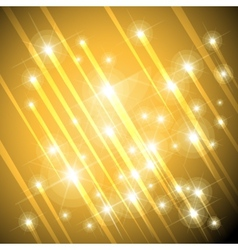 gold stars background vector image vector image