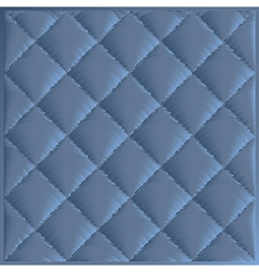 Quilted fabric polyester fiber vector