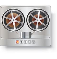 voice recorder vector image vector image