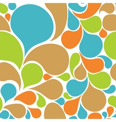 abstract floral pattern seamless vector image vector image