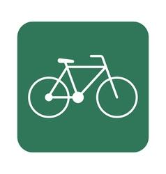 Bicycle bike icon vector