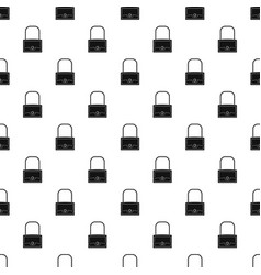 little bag pattern vector image