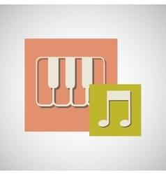 Musical instrument design vector