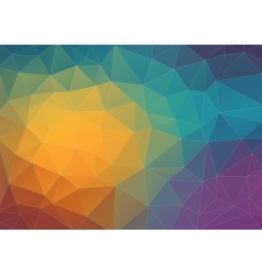 Abstract composition with triangle shapes vector