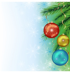 Festive background for New Year and Christmas vector image vector image