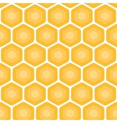 Honeycomb abstract pattern vector image vector image