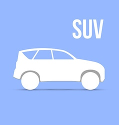 Sample car icon isolated vector