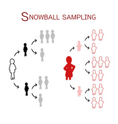 Snowball sampling the sampling methods vector