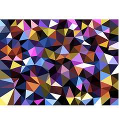 Colorful geometric texture abstract background vector