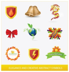 creative elegance web vector image