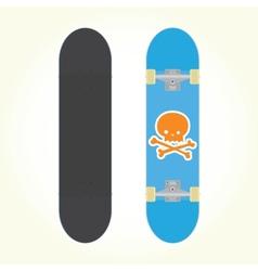 Skateboard isolated vector