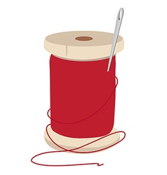 Thread spool and needle vector