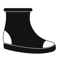woman shoes icon simple vector image vector image