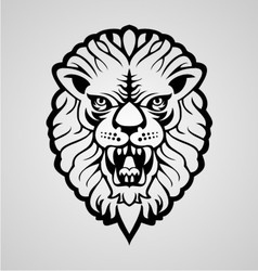 Lions Head vector image vector image