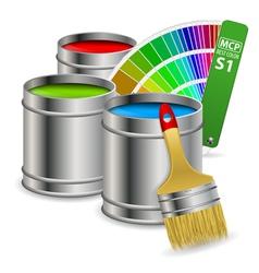 Paint concept vector