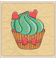 cupcakes02 vector image