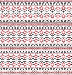 Russian embroidery vector image