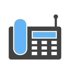 Wireless Landline Phone vector image